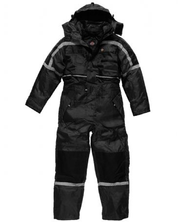 Dickies WD003 Waterproof Padded Coverall WP15000 (Black)